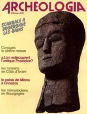 Archeologia n°116 mars 1978 - Couverture - Format classique