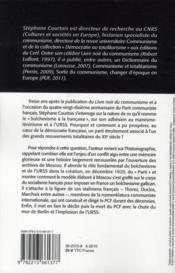 Le bolchévisme à la française - 4ème de couverture - Format classique