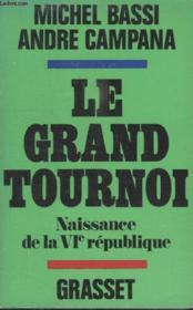 Le Grand Tournoi. - Couverture - Format classique
