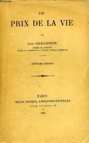 Le Prix De La Vie - Couverture - Format classique