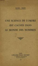 Une Science De L'Ordre Est Cachee Dans Le Monde Des Nombres - Couverture - Format classique