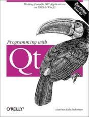 Programming with QT (2e edition) - Couverture - Format classique