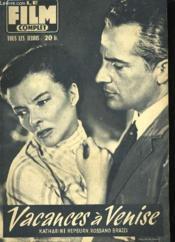 Film Complet N° 554 - Vacances A Venise - Couverture - Format classique