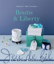 Boutis & liberty - Couverture - Format classique