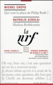 La Nouvelle Revue Francaise N.618 - Couverture - Format classique
