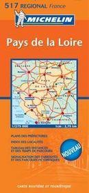 Carte routiere pays de la loire 2007 - Intérieur - Format classique