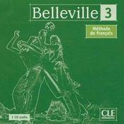 Belleville 3 cd audio coll - Intérieur - Format classique