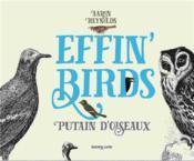 Effin¿Birds : putain d¿oiseaux - Couverture - Format classique