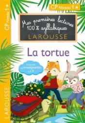 Mes premières lectures 100% syllabiques ; la tortue - Couverture - Format classique