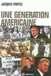 Une génération américaine - Couverture - Format classique