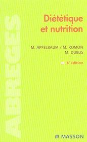 Dietetique et nutrition (6e édition) - Intérieur - Format classique