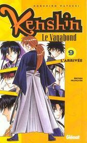 Kenshin le vagabond t.9 ; l'arrivée - Intérieur - Format classique