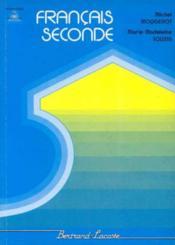 Francais Seconde - Couverture - Format classique