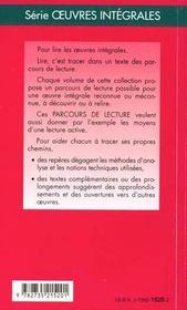 Le tartuffe, de Molière - 4ème de couverture - Format classique