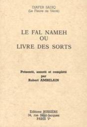 Le fal nameh ou livre des sorts - Couverture - Format classique