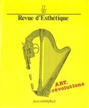 Revue D'Esthetique N.17 - Couverture - Format classique