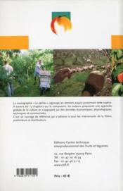 Le pêcher : monographie - 4ème de couverture - Format classique