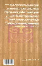 Hommes De Mais, Coeurs De Braise - 4ème de couverture - Format classique