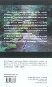 Un monde sans gouvernail ; enjeux de l'eau douce - 4ème de couverture - Format classique