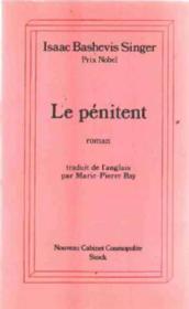 Le penitent - Couverture - Format classique