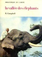 La vallée des éléphants - Couverture - Format classique