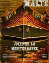 Malte joyau de la mediterranee - Couverture - Format classique