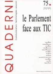 Parlement Face Aux Tic - Couverture - Format classique
