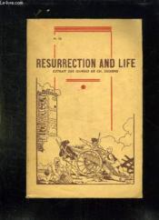 Troisieme Roman Anglais. Resurrection Et Life. Texte En Anglais. - Couverture - Format classique