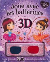 Joue avec les ballerines en 3D - Couverture - Format classique