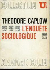 L'Enquete Sociologique - Couverture - Format classique