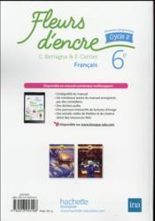 Fleurs D Encre Francais Cycle 3 6eme Livre De L Eleve Edition 2016 Bertagna Chantal Carrier Francoise