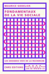 Fondamentaux de la vie sociale - Couverture - Format classique