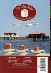 GUIDE PETIT FUTE ; CARNETS DE VOYAGE ; bassin d'Arcachon (édition 2020) - 4ème de couverture - Format classique
