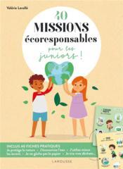 40 missions écoresponsables pour les juniors ! - Couverture - Format classique