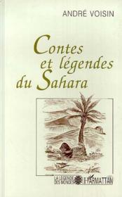 Contes et légendes du sahara - Couverture - Format classique