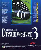 Le Macmillan Dreamweaver 3 - Intérieur - Format classique