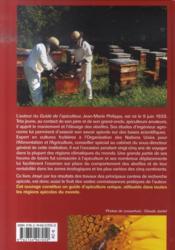 Le guide de l'apiculteur - 4ème de couverture - Format classique
