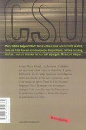 CSU t.5; le prédateur - 4ème de couverture - Format classique