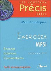 Mathématiques mpsi - Intérieur - Format classique