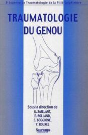 Traumatologie du genou - Couverture - Format classique