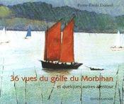 36 vues du golfe du morbihan bilingue francais- anglais - Couverture - Format classique