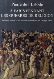 À Paris pendant les guerres de religion - Intérieur - Format classique