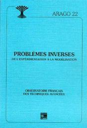 Problemes inverses ; de l'experimentation a la modelisation - Couverture - Format classique