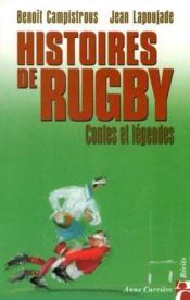Hist de rugby 1 contes et lege - Couverture - Format classique