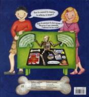 Le pop-up du corps humain - 4ème de couverture - Format classique