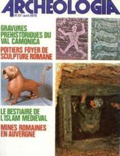 Archeologia n°117, avril 1978 - Couverture - Format classique