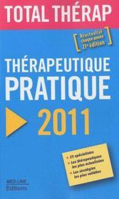 Thérapeutique pratique (édition 2011) - Couverture - Format classique