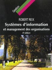 Systemes d'information et management des organisations ; 4e edition - Intérieur - Format classique