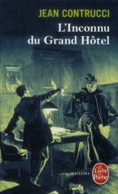L'inconnu du grand hôtel - Couverture - Format classique