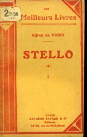 Stello. Tome 1. Collection : Les Meilleurs Livres N° 116. - Couverture - Format classique